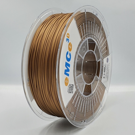 Filament eMCe3D PLA 1,75mm, Copper metallic 1kg (1)